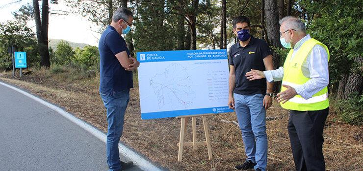 A Xunta reforza a seguridade viaria da Vía da Prata