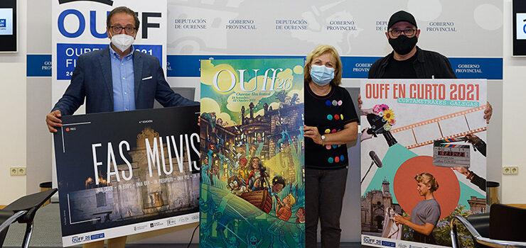 O OUFF presentou os seus carteis