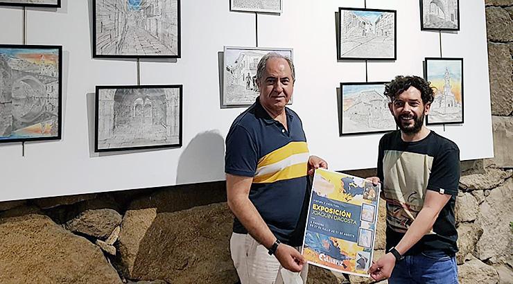 A Sala da Paneira acolle unha exposición de Joaquín Dacosta