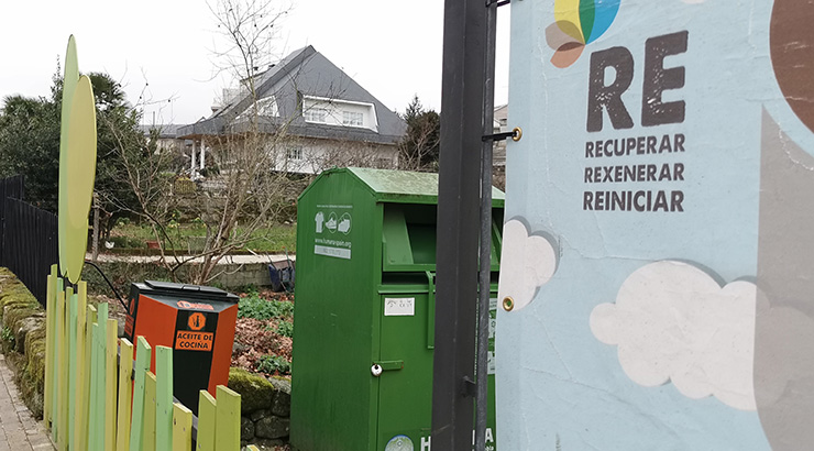 Allariz recicla e recicla