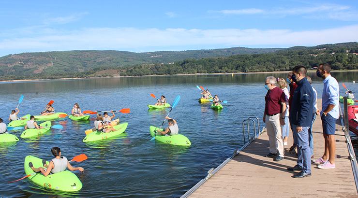 Muíños acolle o campamento de verán 'Vén explorar con nós'