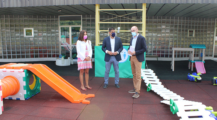 A Xunta renova a escola infantil da Farixa