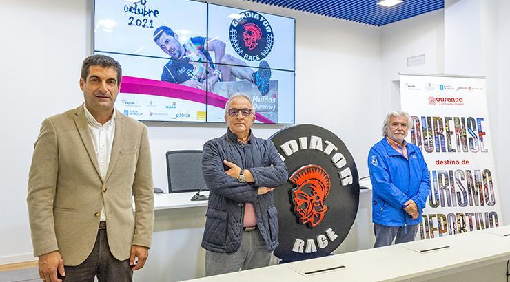 """A única """"Gladiator Race"""" de 2021 celébrase en Muíños"""