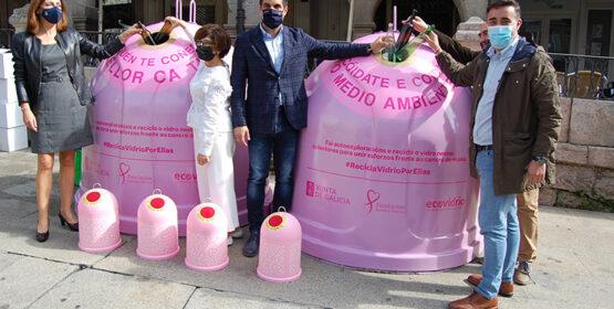 A campaña 'Recicla Vidro por elas' chega a Ourense